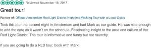 TripAdvisor Amsterdam Red Light District tour