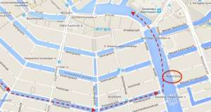 Amsterdam Gay Pride Parade 2016 Canal Route
