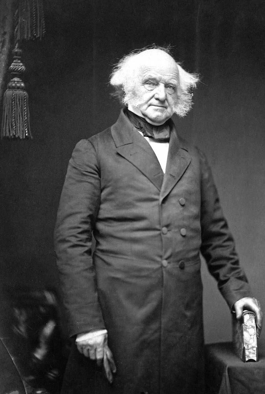 Martin van Buren 8th president USA