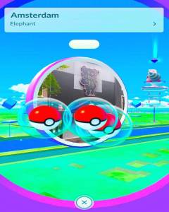 Pokemon in the Red Light District Amsterdam