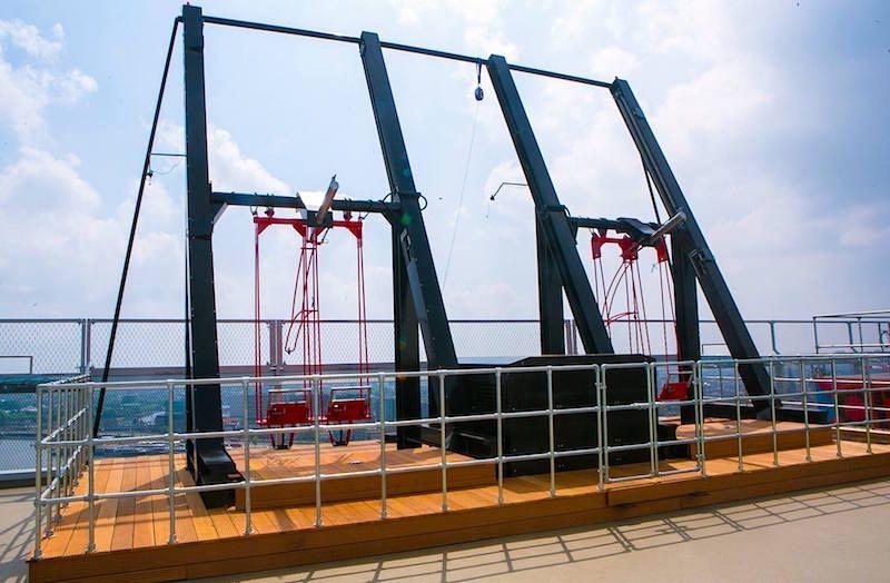 New Sensational Over The Edge Swing At A Dam Toren