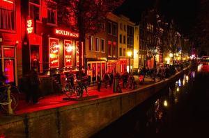 Interview Window Prostitute in Holland Amsterdam