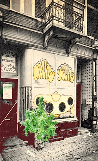 Mellow Yellow First CoffeeShop of Amsterdam