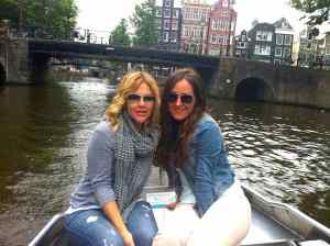 Fun to do: Rent a boat in Amsterdam