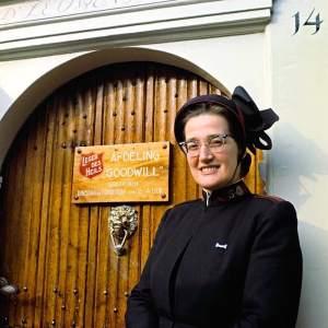 Major Bosshardt of Salvation Army in Amsterdam