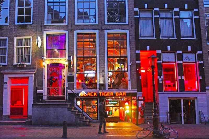 Amsterdam Prostitutes Windows Red Light District