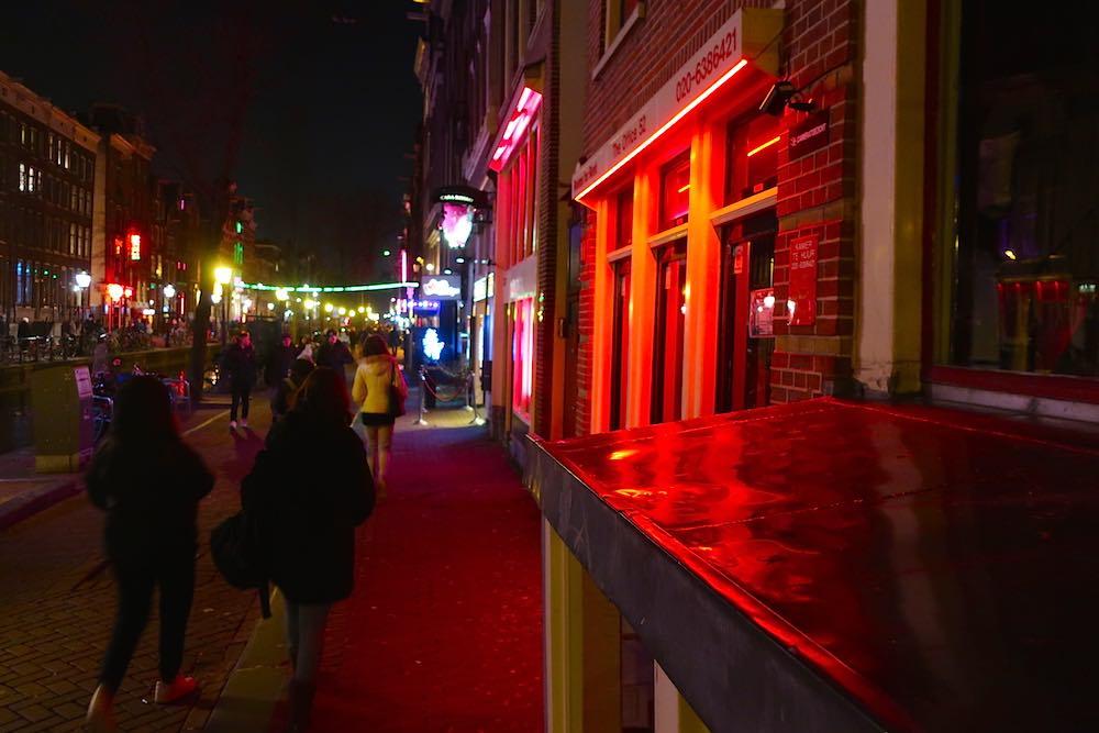 Amsterdam Red Light Map