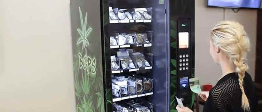 Growing Weed In The Netherlands Vending Machine
