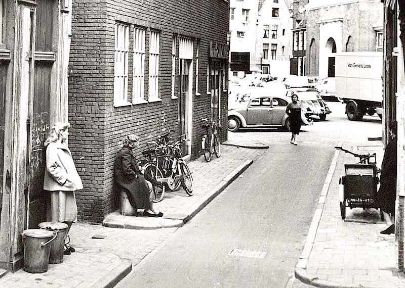 street prostitution in Amsterdam in 1950's