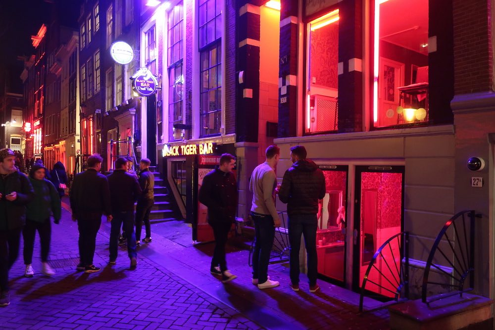 amsterdam red light district photography