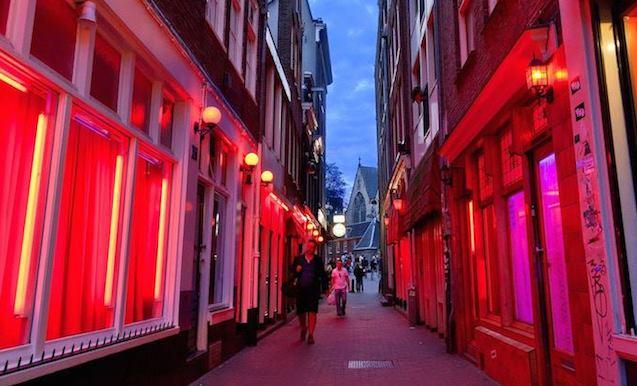 Amsterdam Red Light District Map Amsterdam Red Light