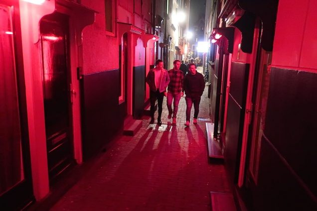 Amsterdam Red Light District Map