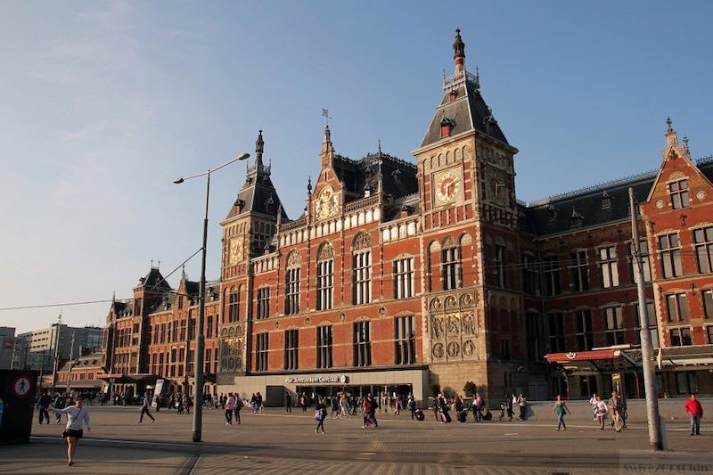 From London To Amsterdam By Train Amsterdam Central Station