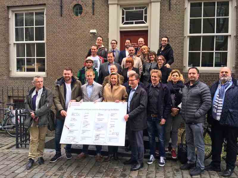 Amsterdam Red Light District Convenant and Permit Tour Guides