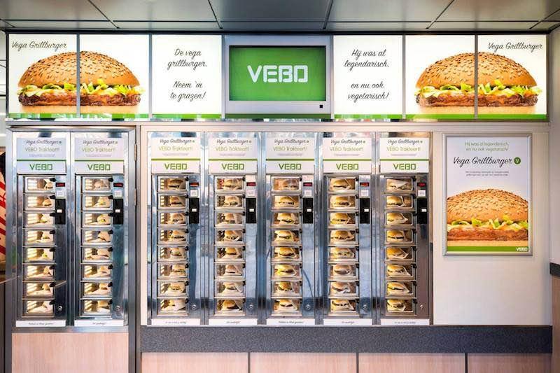 Febo Netherlands Vega Grillburger