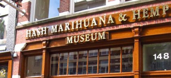 Amsterdam Red Light District things to do Hash Marhihuana & Hemp Museum