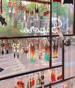Dutch restaurant in Amsterdam Red Light District Jewelry