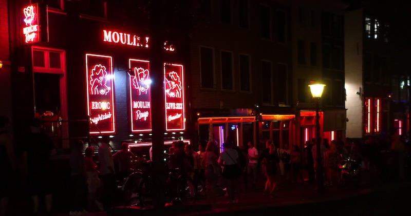 Red Light District Facts window brothels