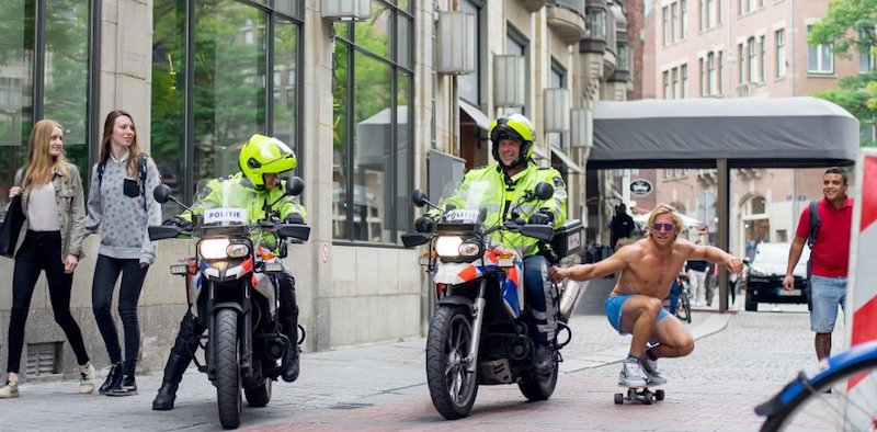Red Light District Laws Motorcycle Police