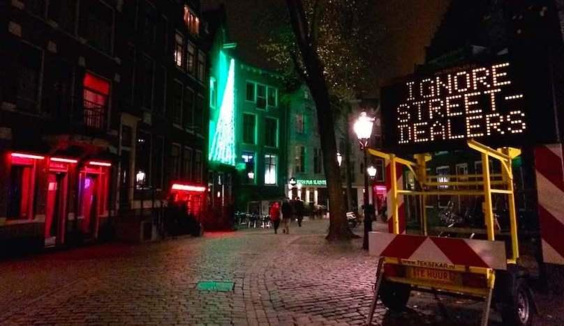 Amsterdam drug dealers fake drugs sellers