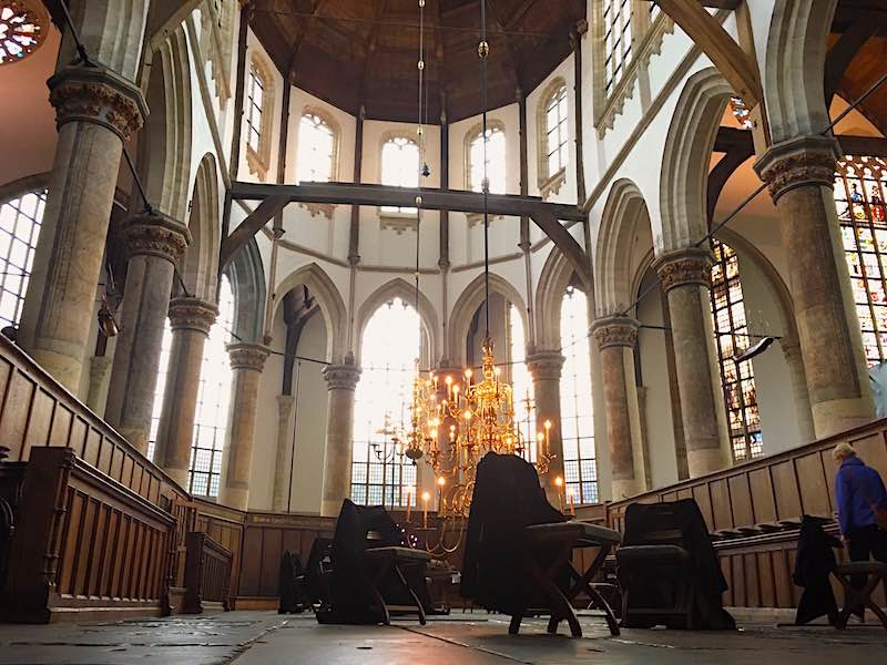 Amsterdam Tour App Old Church Oude Kerk