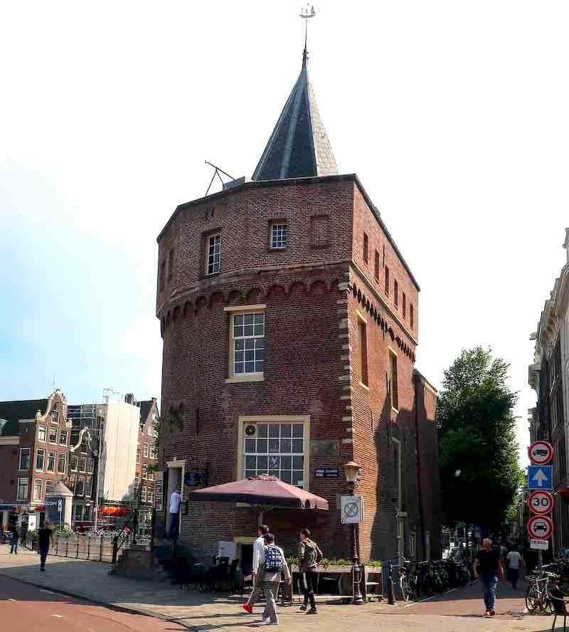 Amsterdam Tour App Schreierstoren De Wallen