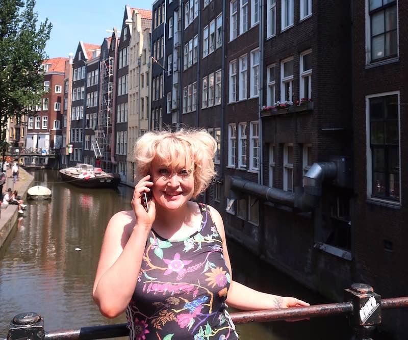 Amsterdam tour app dr Kate Lister