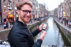 Amsterdam tour app for Red Light District