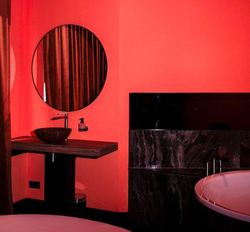 Amsterdam Brothel VIP room