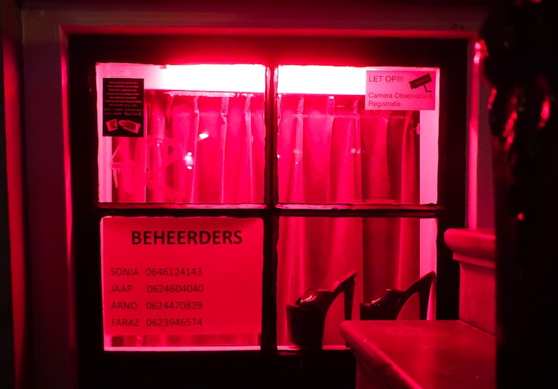 Amsterdam Red Light District Window Pictures