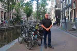 Cor van Dijk in Amsterdam Red Light District