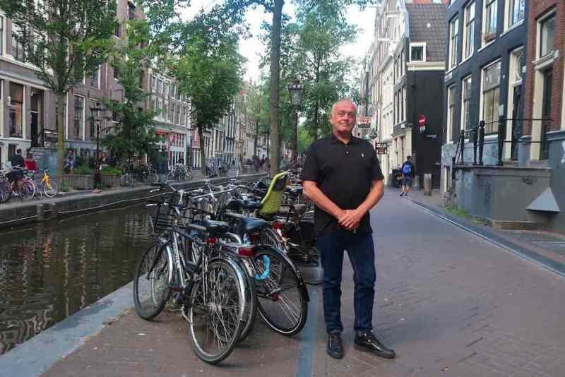 Cor van Dijk in Amsterdam Red Light District