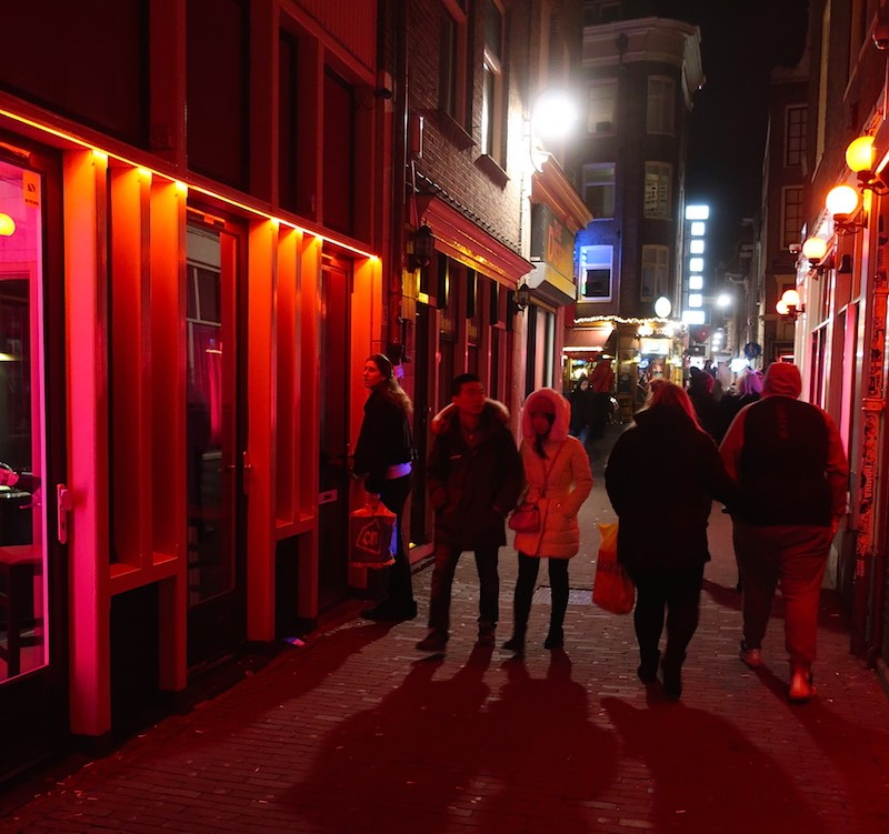 Amsterdam Tourism Statistics Red Light District