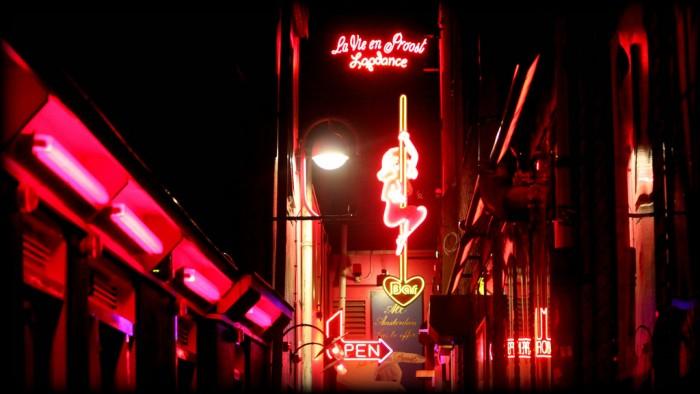 Stripclub Amsterdam Red Light District