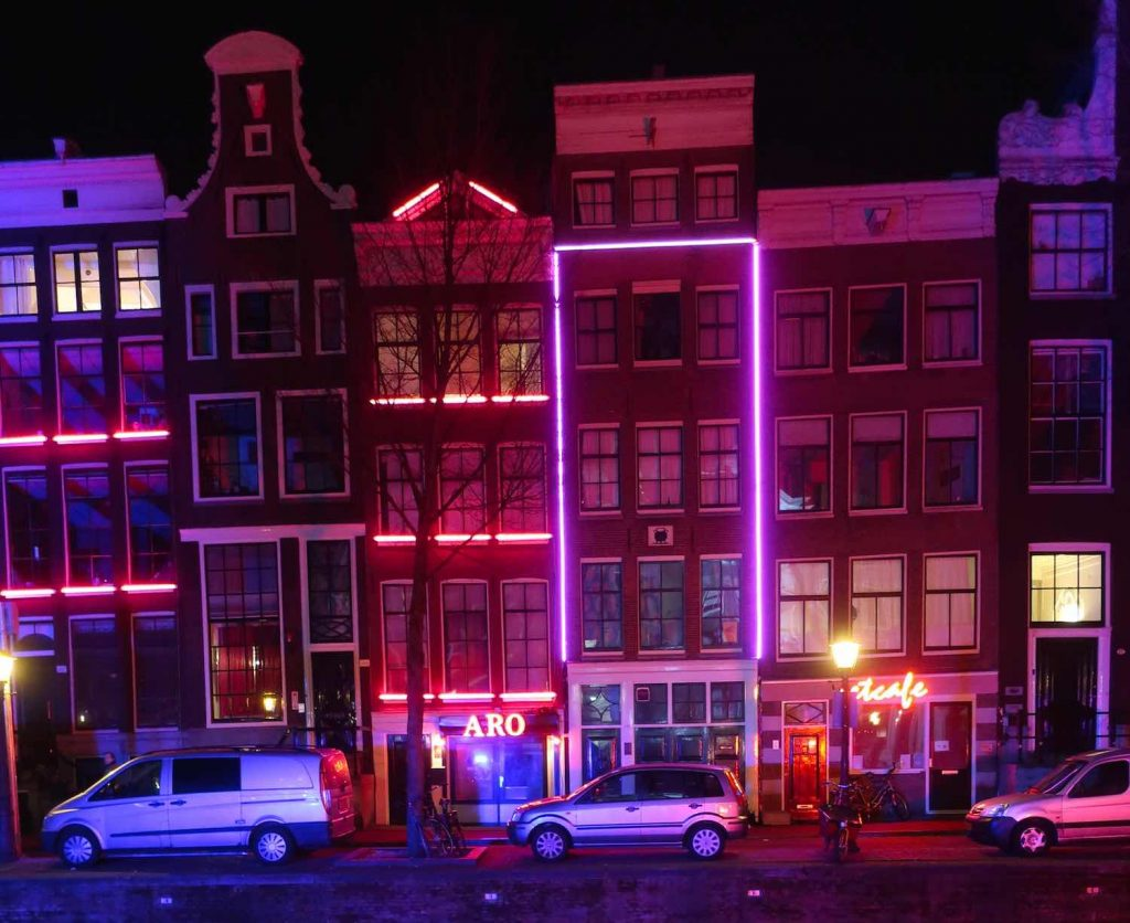 Red Light District of Amsterdam Wallen