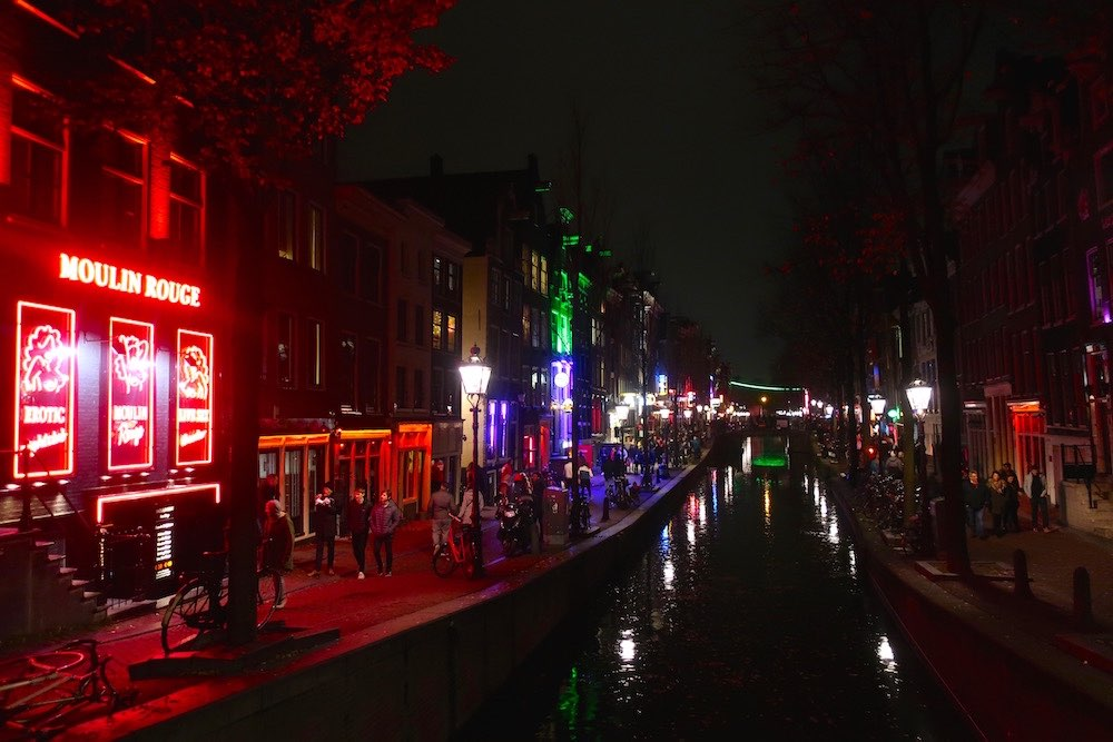 tours in amsterdam red light district