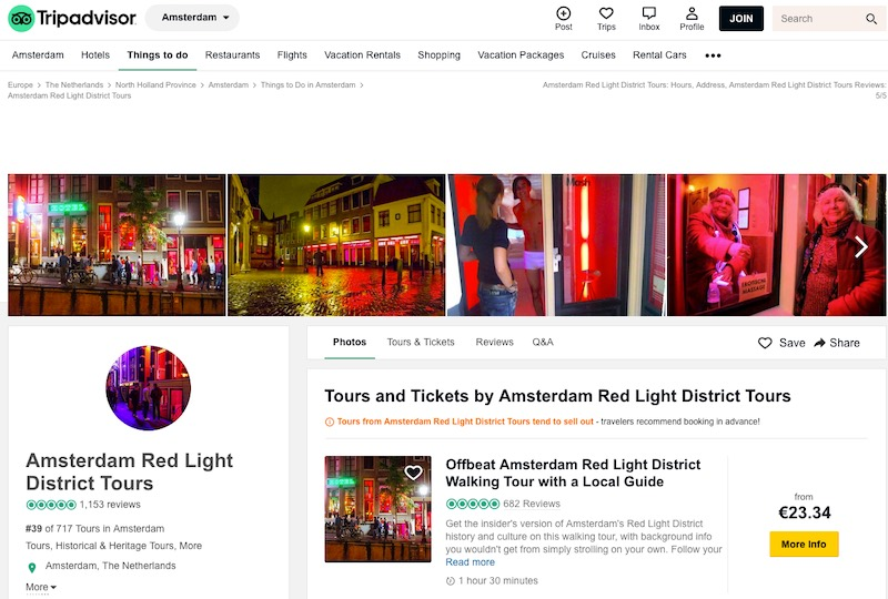 offbeat amsterdam red light tour