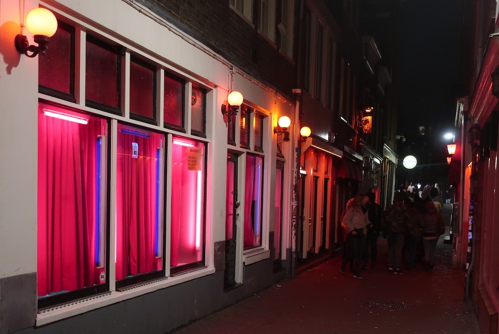 amsterdam red light area