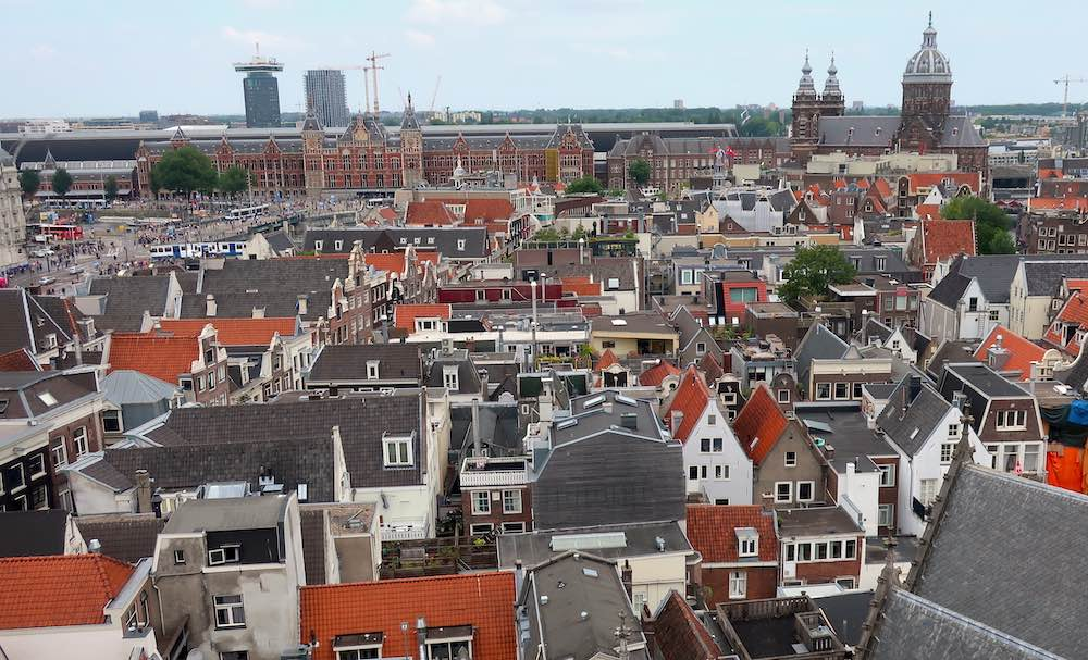 Historical buildings in Netherlands