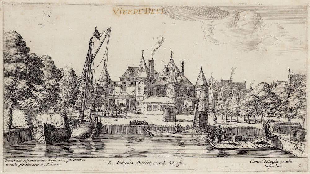 Amsterdam Nieuwmarkt 1660