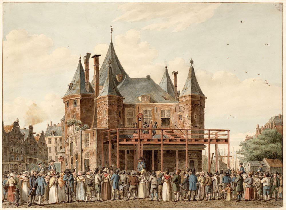 De Waag 1812