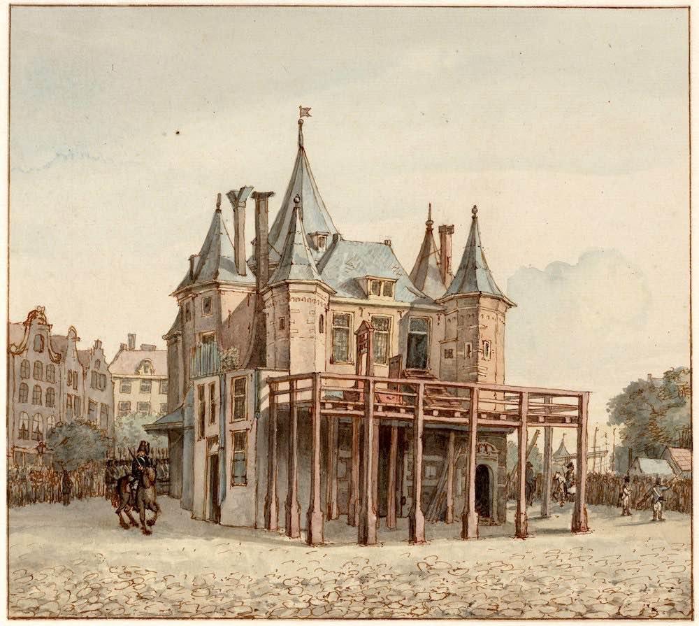 Amsterdam Nieuwmarkt 1812