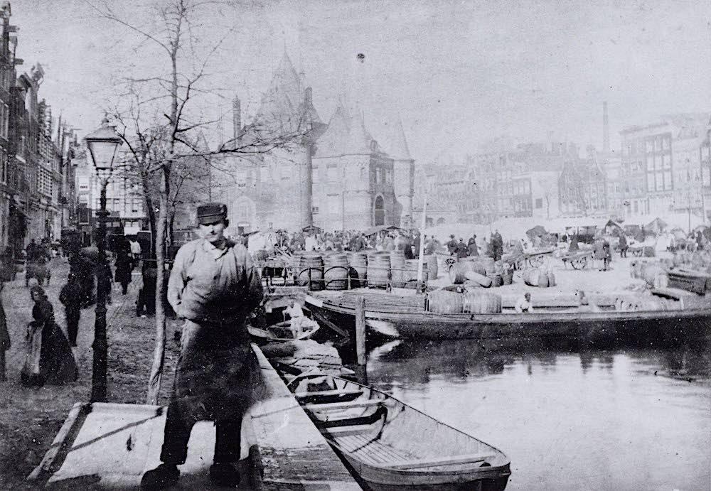 Nieuwmarkt 19th century