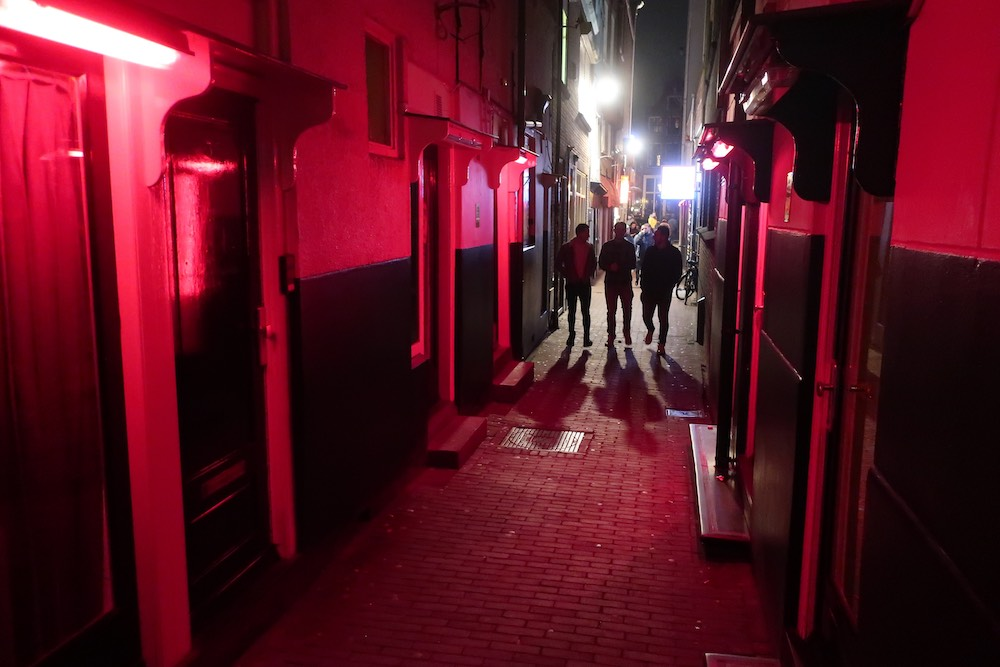 why is it called red light district