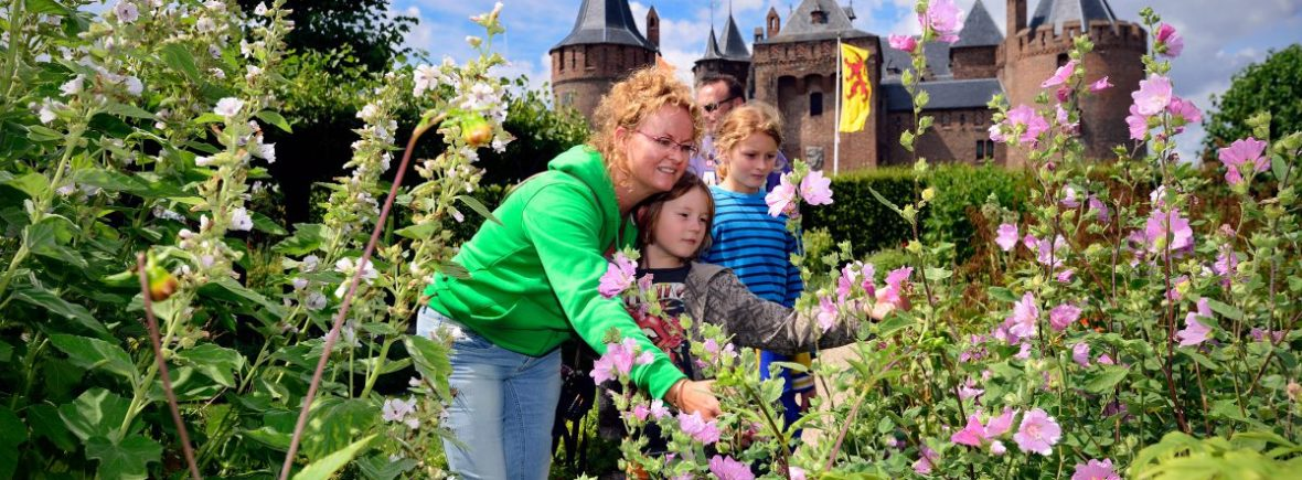 Visit the castles and gardens of the gooi and vecht region with amsterdam tourist ferry and bring your bike for free on this boat tour
