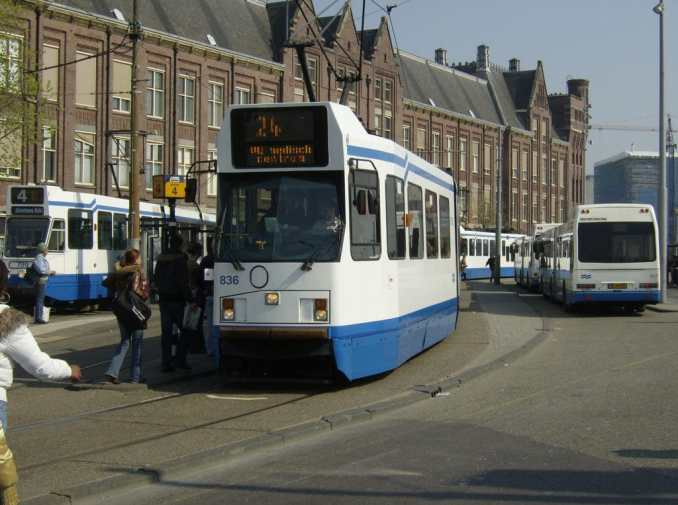 Amsterdam Centraal Tram