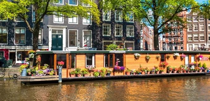 Houseboat le case galleggianti di amseterdam la guida for Case galleggianti amsterdam