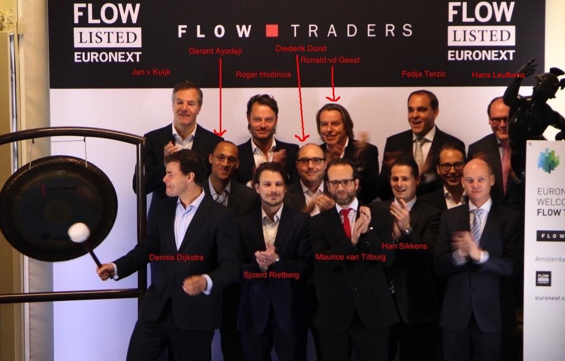 Junior Trader bij Flowtraders