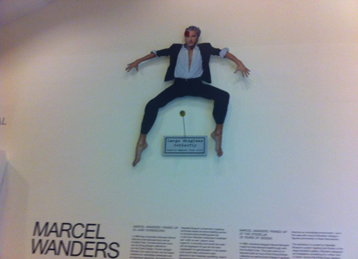 Marcel Wanders Pinned Up.Marcel Wanders Pinned Up At Stedelijk Amsterdo