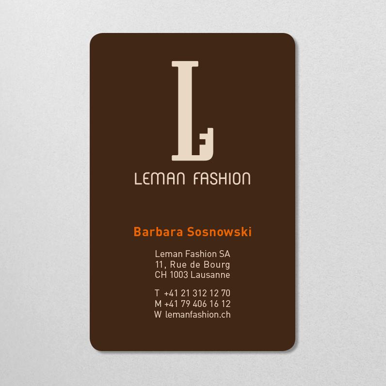Leman Fashion – Identité visuelle 2013